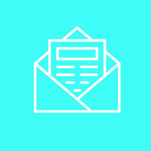 Gehe mit den vollständigen Antragsunterlagen zur Post oder zu Deiner Bank.